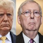 Trump mocks Mitch McConnell for being 'helpless' to stop Biden packing out the Supreme Court