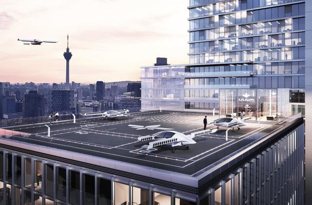 Lilium secures $90 million to develop its electric VTOL plane