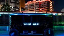 Russia's Sberbank unit unveils self-driving vehicle FLIP