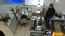 Salon robberies suspect questioned by police