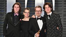 Gary Oldman's son says his mother is lying over 2001 abuse claim