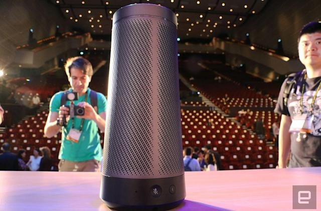 Here's our first look at Harman Kardon's Cortana speaker