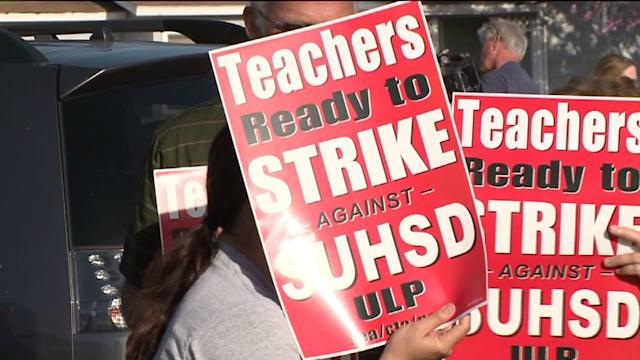 Teachers Strike Regardless Of Postponed Board Meeting