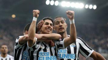 Newcastle vs Huddersfield: Salomon Rondon and Ayoze Perez down ten-man Terriers