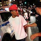 The police officer who fatally choked Eric Garner has been fired. The guy who filmed it is still in prison.