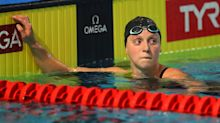The Olympics (might) start in a year. Katie Ledecky is trying to prepare as if they will