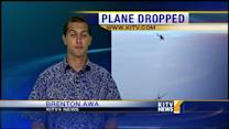 Salvage teams drops plane into ocean