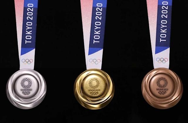Tokyo unveils its recycled e-waste Olympics medals
