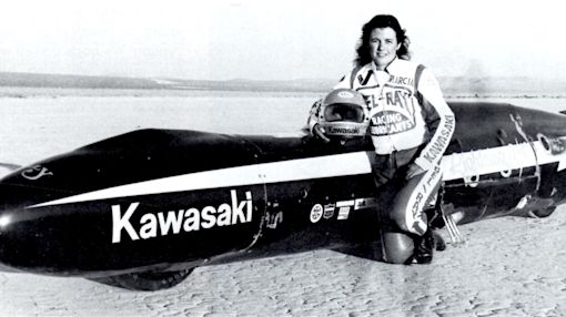 Kawasaki Remembers the 'Lightning Bolt'