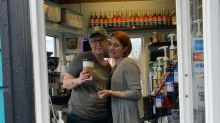 Coffee shop owner closes for the day to work for terminally ill competitor