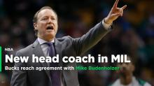 Bucks reach agreement with Mike Budenholzer to become HC