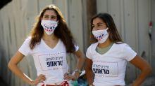 White House election race reaches streets of Tel Aviv