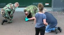 Authorities Investigate 'Hand Grenade' Found on Amsterdam Street