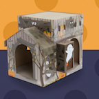 People Are So Obsessed With This Haunted House For Cats, Target Keeps Selling Out