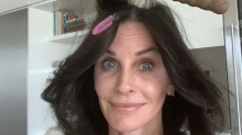 This round brush is Courteney Cox's secret to a voluminous and bouncy blowout