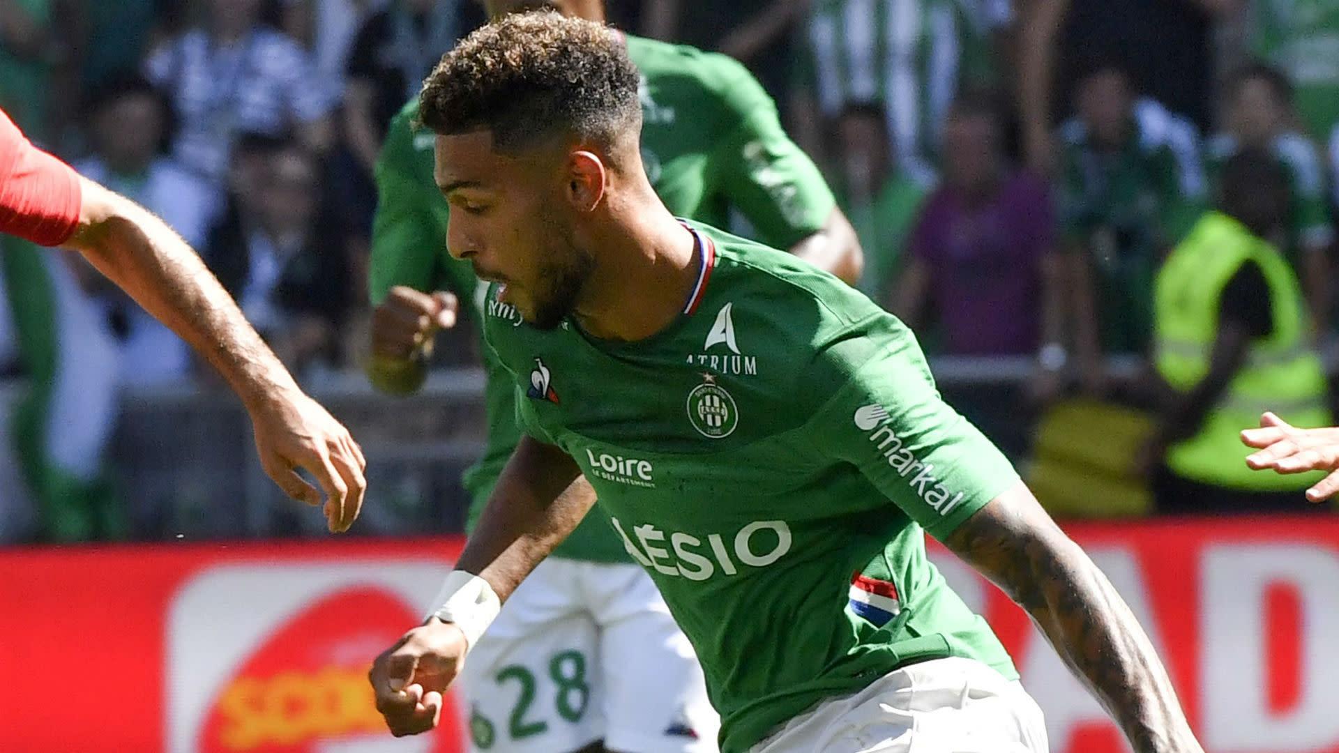 Denis Bouanga Rescues Saint Etienne Against Brest In Ligue