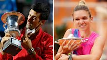 Novak Djokovic took home $12 more than women's Italian Open winner Simona Halep in 'petty' display of gender pay disparity in tennis