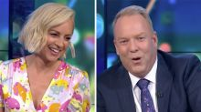 The Project host Pete Helliar shocks with X-rated Covid gaffe
