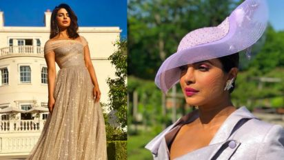 Yahoo Poll: Which outfit that Priyanka Chopra wore at the Royal Wedding was better?