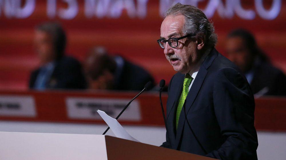 """""""Podemos ofrecerle a los mexicanos un gran Mundial"""", dijo Decio de María"""