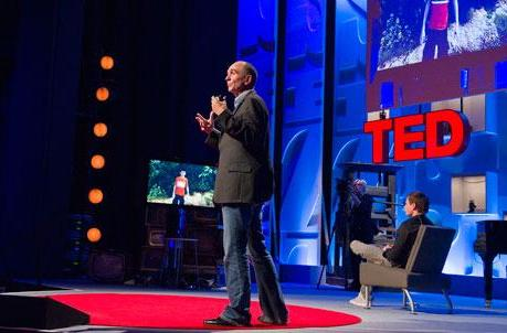 Peter Molyneux brings Milo, Kinect, and snails to the TED stage