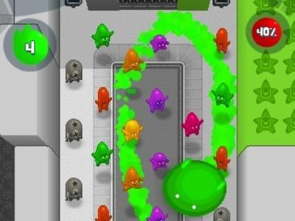 Apple to show off THQ's De Blob at Apple Stores