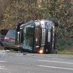 Prince Philip car crash: nine-month old baby in car Duke of Edinburgh collided with near Sandringham