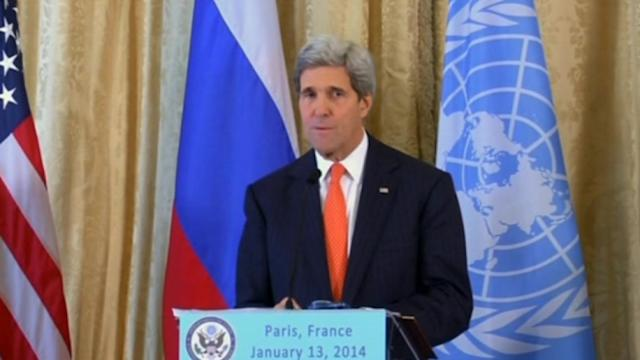 Kerry, Lavrov zero in on ceasefire in Syria