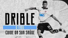 """Em apoio ao """"Novembro Azul"""", Vasco muda cor de patrocinador contra Palmeiras"""