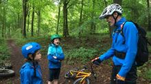 Boys in the wood: family mountain biking in the Sussex forest