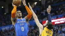 Russell Westbrook's record-setting triple-double streak ends at 11 after fouling out in OT