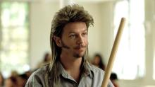 Take a First Look at David Spade's Mullet Wig from 'Joe Dirt 2'
