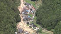 Raw: Rescue, Relief Efforts at Japan Landslide