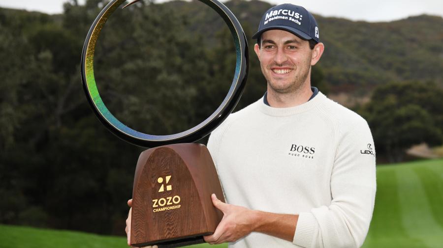 Cantlay rallies to win Zozo Championship