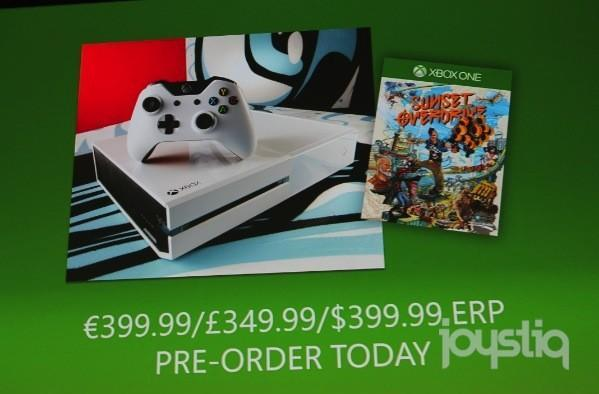 White Xbox One Sunset Overdrive bundle hits Oct. 28 [UPDATE: Trailer added!]