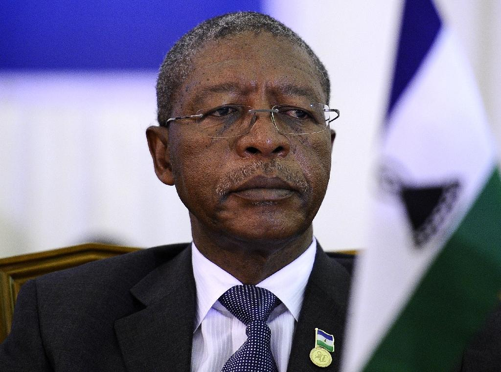 Lesotho Prime Minister Pakalitha Mosisili, pictured in 2011, has headed a coalition government since a snap election in 2015