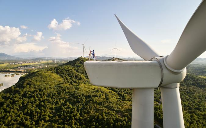 Apple renewable energy wind farm