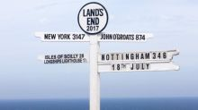 Who was the first recorded person to walk from Land's End to John O'Groats?
