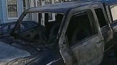 Another Vehicle Set On Fire In Allston