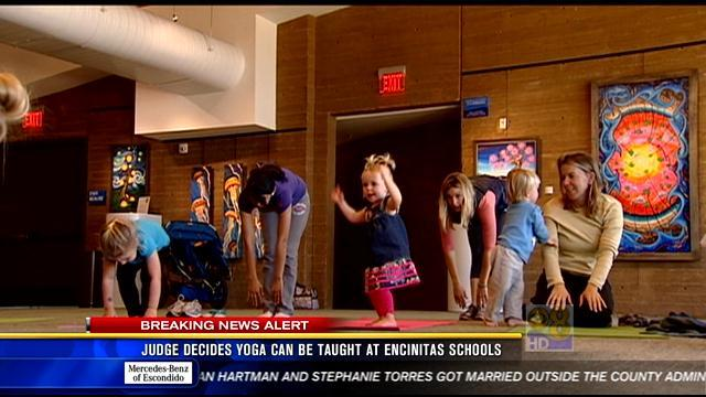 Judge decides yoga can be taught at Encinitas schools