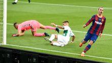 El Barcelona gana 1-0 al Elche y se lleva su Trofeo Joan Gamper