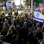 Thousands of Israelis Protest in Tel Aviv As Corruption Allegations Levelled at Prime Minister Benjamin Netanyahu