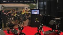 OPTEC International Introduces the All-Terrain Rapid Response Scooter (RRS) at the National EMS Today Expo National Harbor, Maryland.