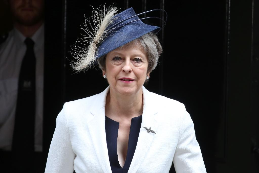 British Prime Minister Theresa May will release details about her Brexit plan that caused outrage among eurosceptic members of her Conservative party (AFP Photo/Isabel INFANTES)