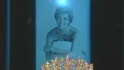 Princess Diana Exhibit Opens At Union Station