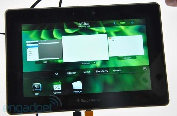 RIM shows off new features for PlayBook 2.0 at DevCon