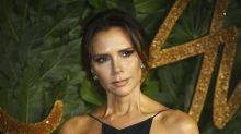 Victoria Beckham mocks famous poker face as she posts 'evidence' of her smile