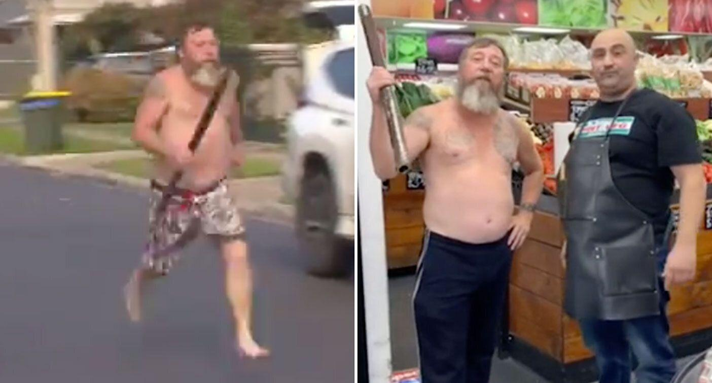 'Didgeridoo man' appears in hilarious new fruit shop ad