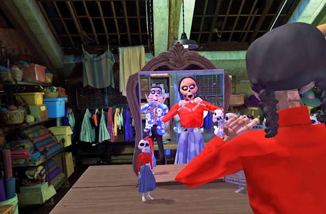 Pixar's 'Coco VR' lets you explore the land of the dead