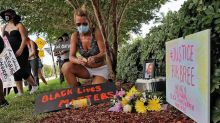 Protesters mourn the killing of a Black transgender woman in Pompano Beach
